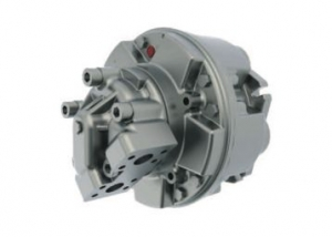 High torque dual displacement radial piston motors BD series