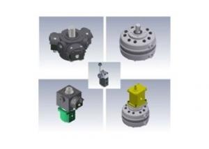 PR Open loop fixed displacement radial piston pump