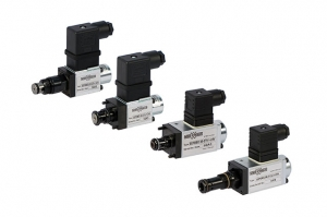 Proportional pressure relief valves