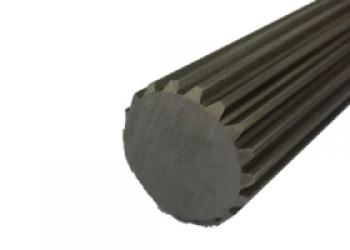 Spline shafts